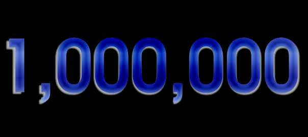 Masters of Money One Million Social Media Followers Graphic
