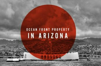 Ocean Front Property In Arizona Graphic