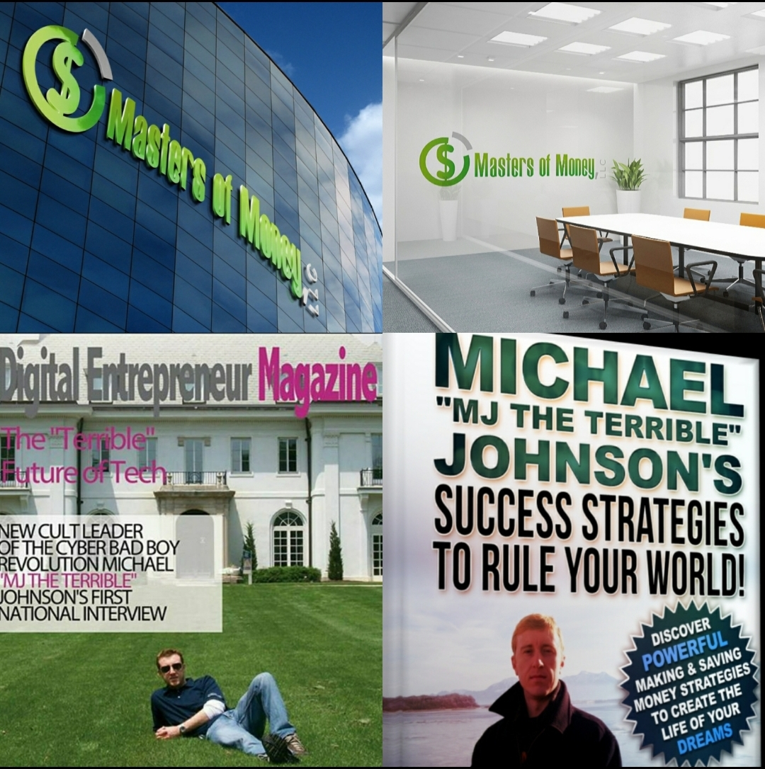 Masters of Money LLC - Success Strategies To Rule Your World! - Collage
