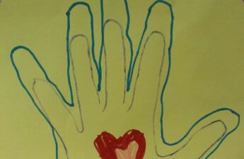 11152014 Malia and MJ Hand In Hand Artwork