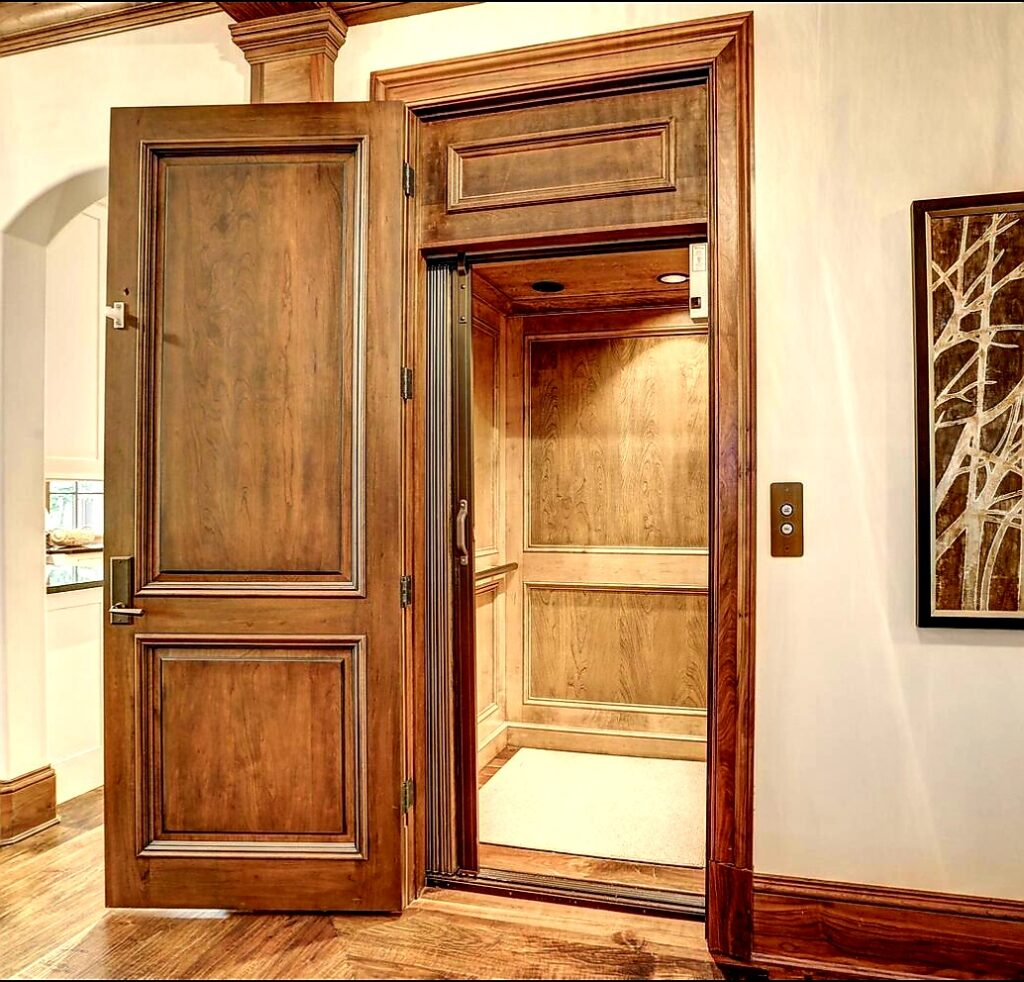 Elevator Inside of Malia and MJ's Home In Bethesda Maryland