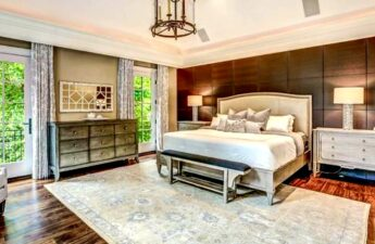 Master Bedroom at Malia and MJ's Home in Bethesda Maryland