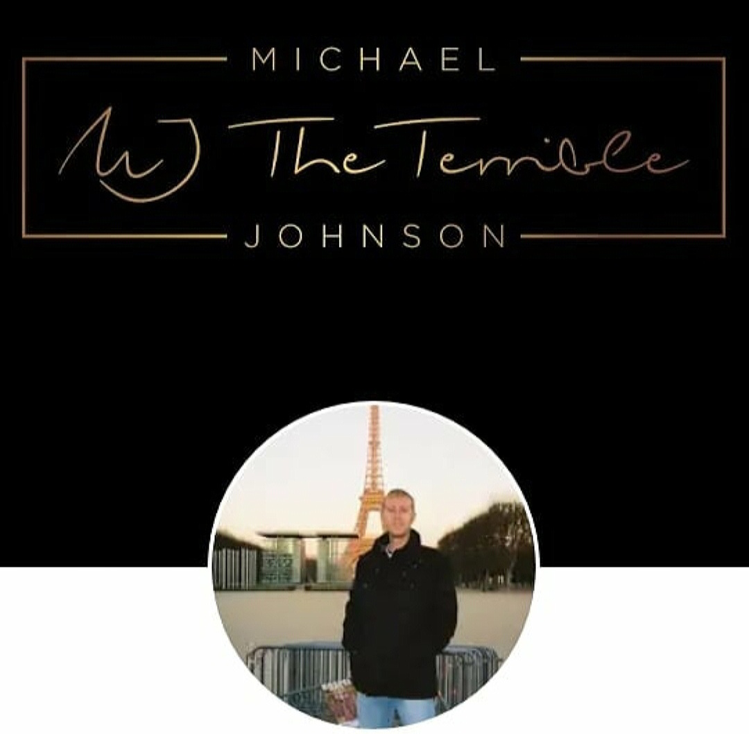 MJ The Terrible Picture and Logo Frame