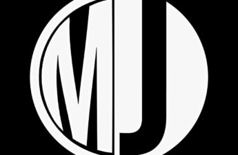MJ Black and White Circle Logo