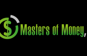 Masters of Money LLC Green and Black Logo