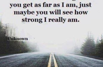 Masters of Money LLC Before you start to judge me step into my shoes and walk the life I'm living and if you get as far as I am just maybe you will see how strong I really am. Quote Picture