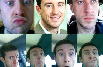 "Michael ""MJ The Terrible"" Johnson Pretty Blue Eyes Collage"