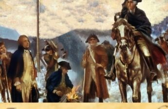Continental Army George Washington July 4th 1776 Graphic Collage