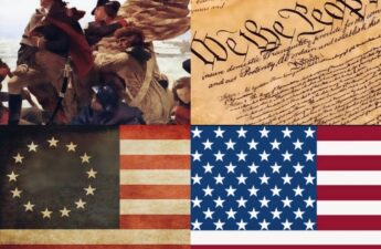George Washington We The People 13 Colonies and 50 States Independence Day Collage