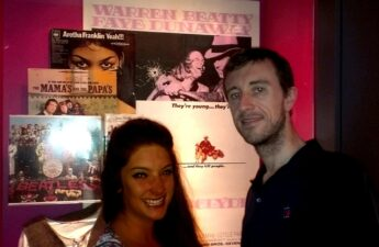 Malia and Michael MJ The Terrible Johnson at Bonnie and Clyde Exhibit Austin Texas