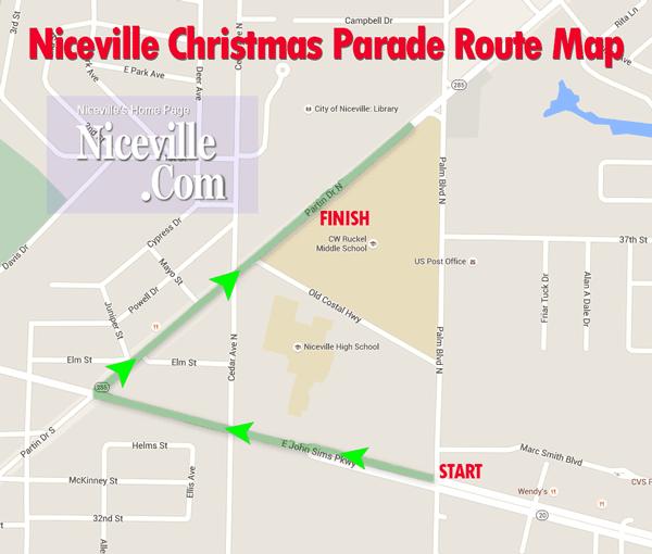 Niceville Christmas Parade 2020 2019 Niceville Christmas Parade is Saturday morning   Niceville.com