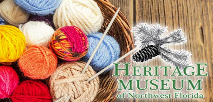 heritage museum knitting class niceville