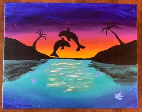 Okaloosa arts poster contest 2020 middle school winner edge