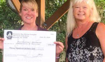 bluewater bay marina animal adoption recuse Jimmie Boisjolie Sara Knight Furbulous Animal Adoption and Rescue