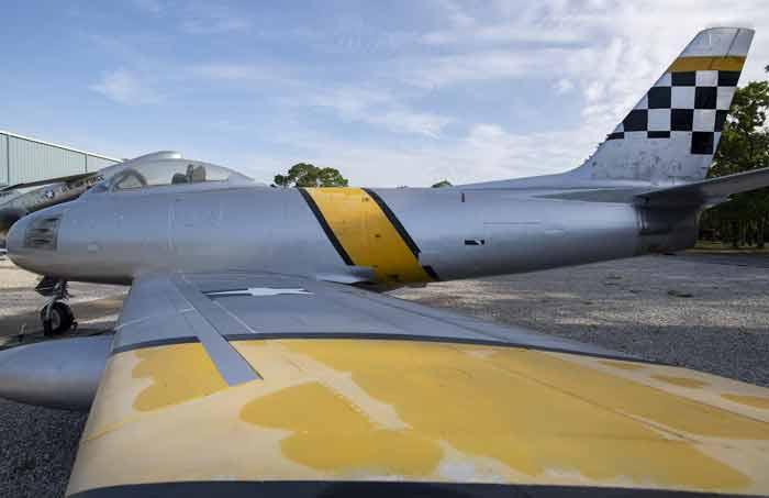 F-86 Sabre Eglin Air Force Base Armament Museum vinyl wrap