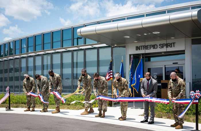 Eglin Air Force Base Intrepid Spirit Center opening