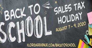 florida back to school sales tax holiday 2020