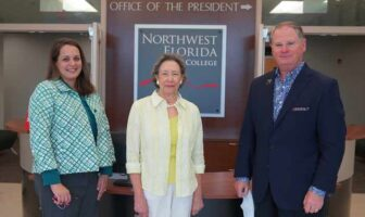 With a generous pledge of $500,000, Judy-ann Zoghby has established the Zoghby Learning Commons at Northwest Florida State College.
