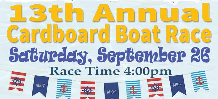 cardboard boat race 2020 bluewater bay niceville marina LJ Schooners