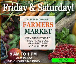 niceville farmers market palm plaza