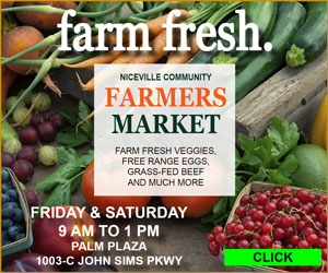 niceville farmers market palm plaza
