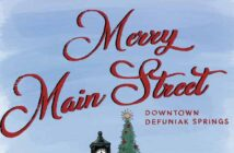 christmas defuniak springs main street downtown