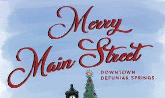 christmas defuniak springs main street downtown