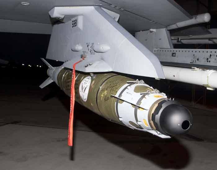 eafb eglin air force base GBU-54 BLU-111 final test flight dedication Richard Walley