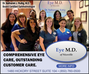 eye md niceville dr ruttig