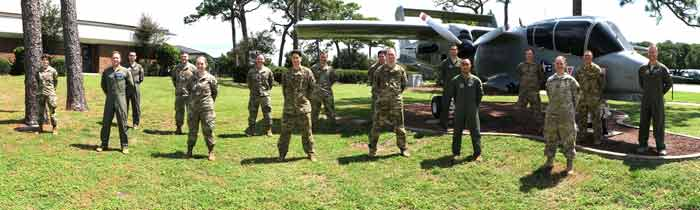 hurlburt field multi-domain graduates 2020 505th command and control wing 705th training squadron