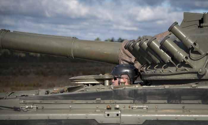 eglin air force base emerald flag T-72 battle tank