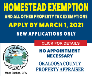 okaloosa county property appraiser homestead exemption 2021