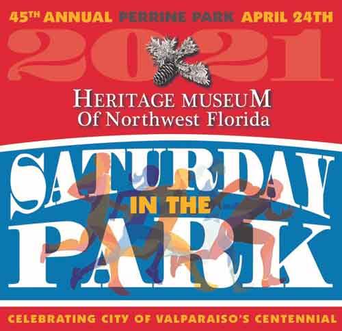 Saturday in the Park 2021 Heritage Museum of Northwest Florida Valparaiso