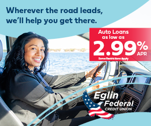 Eglin Federal Credit Union auto loans