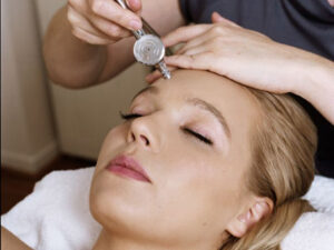 Oxygen Facial skin treatment.