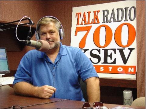 Bryon parffrey Houston Mold inspector at the radio station