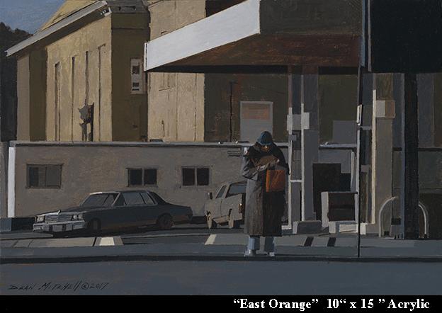 """East Orange 10"""" x 15"""" Acrylic"""