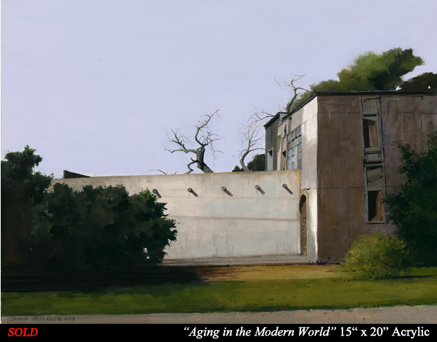 "Aging in the Modern World  15"" x 20"" Acrylic"