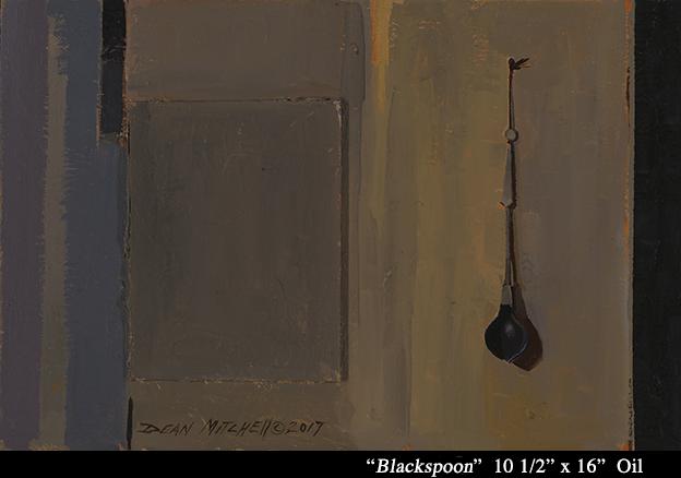 """Blackspoon 10.5"""" x 16"""" oil"""