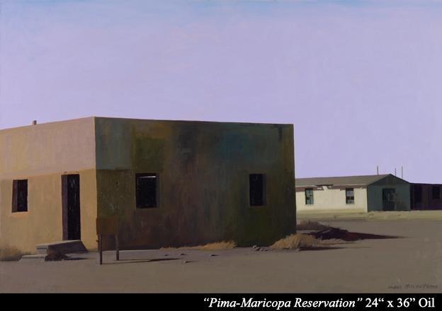 "Prima Maricopa Reservation  24"" x 36"" oil"