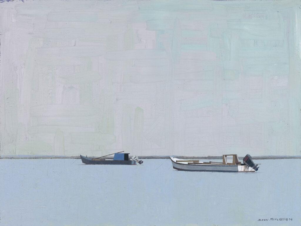 "Carabelle Boats oil 18"" x 24"""