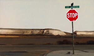 "Route 66 18"" x 30"" acrylic"