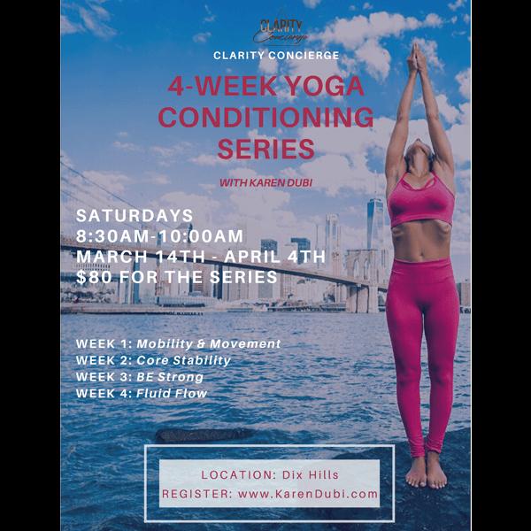 4-week Yoga Series