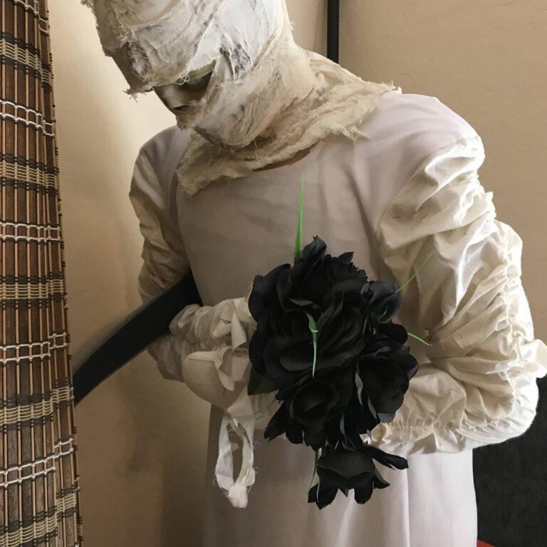 Life-Size Halloween Mummy