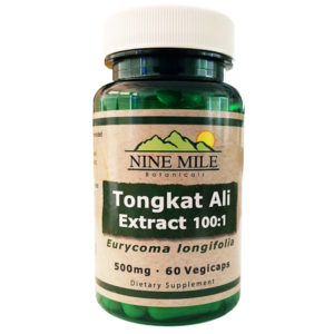Nine Mile Botanicals Tongkat