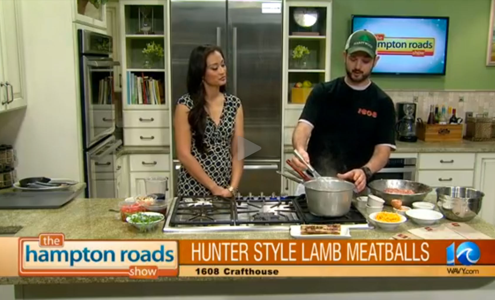 The Hampton Roads Show – Hunter Style Lamb Meatballs