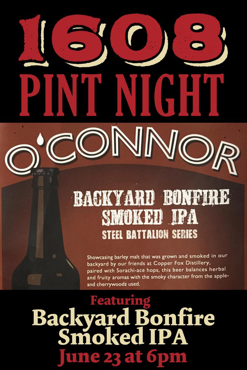 Backyard Bonfire Smoked IPA - Pint Night