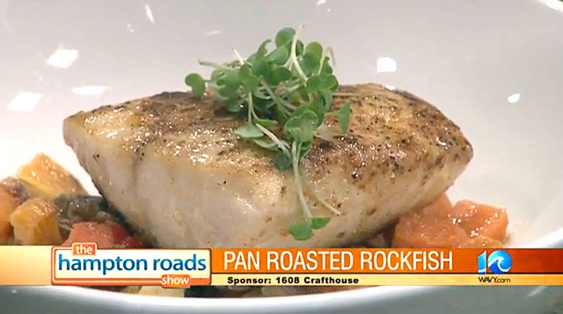 "Hampton Roads Show - ""In the Kitchen"" - Rock Fish"