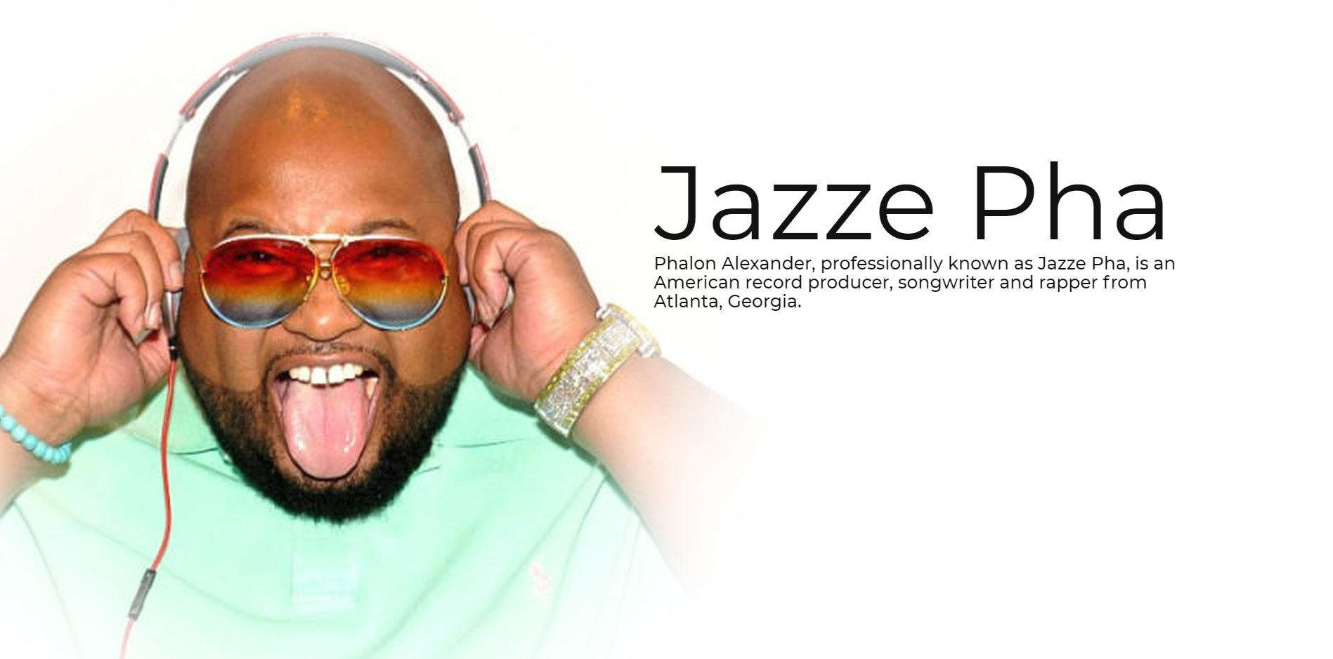 Jazze Pha Artist Content Cover
