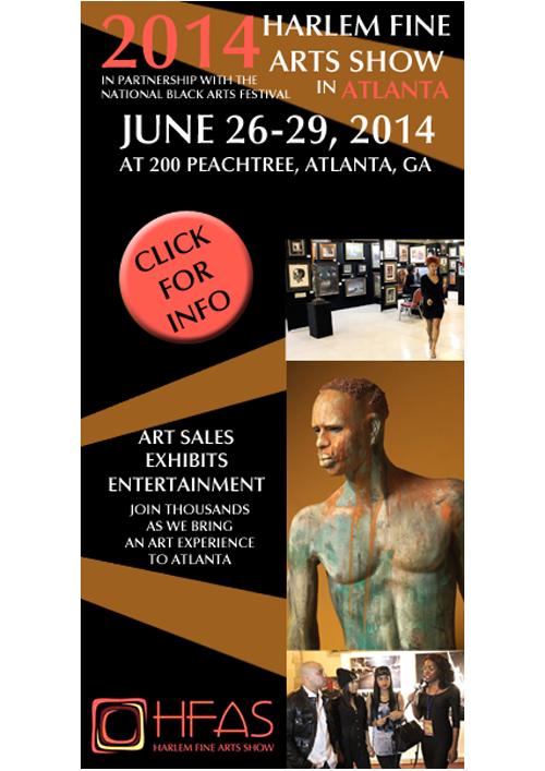 Harlem Boy Media Design Harlem Fine Arts Show Digital Ad 1
